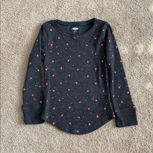 Old Navy Girls Thermal Top Size 5